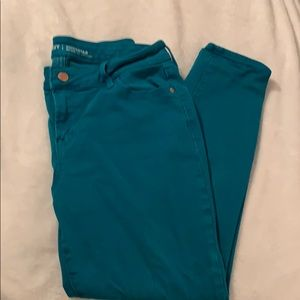 Old navy rockstar colored jeans